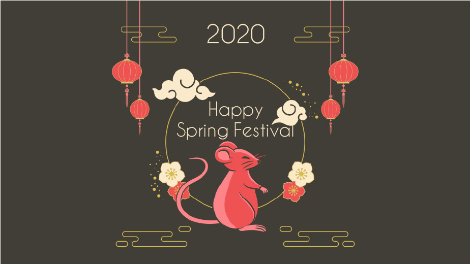 2020 Chinese New Year Holiday Closing Announcement